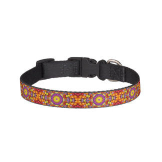 Yummy Yum Yum  Tiled Dog Collars