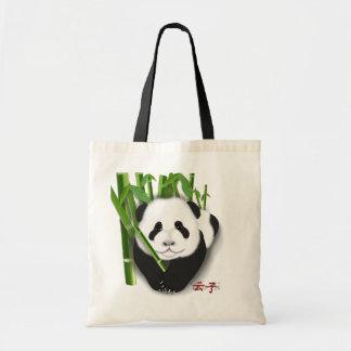 yun zi panda cub tote