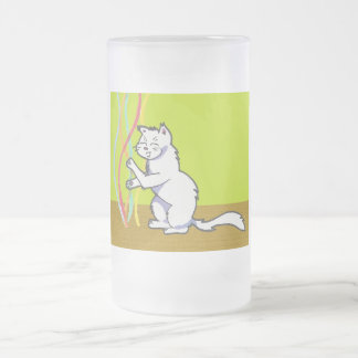 Yuna Anime Art Gallery Character Frosted Glass Beer Mug