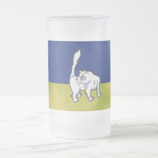Yuna Anime Art Gallery Character Frosted Glass Mug