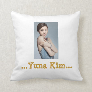 Yuna Kim Couch Pillow (16x16)