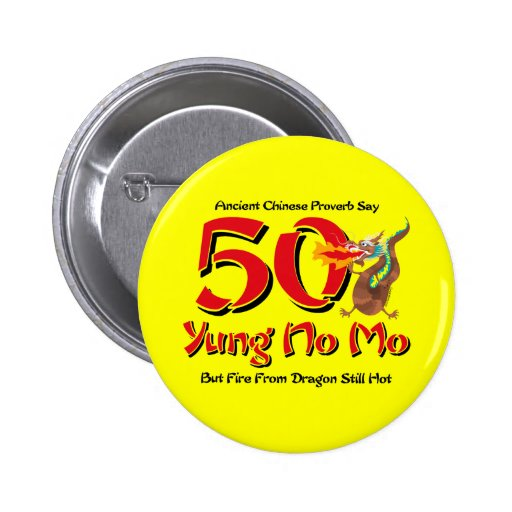 Yung aucun cinquantième anniversaire de MOIS Badge