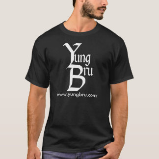Yung Bru Logo with Website T-Shirt