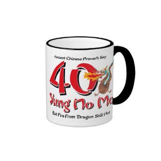 Yung No Mo 40th Birthday Ringer Coffee Mug