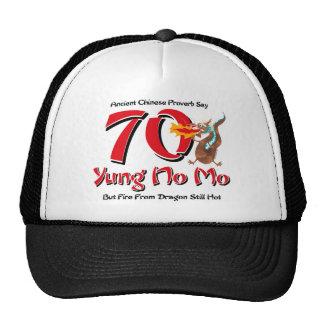 Yung No Mo 70th Birthday Mesh Hats