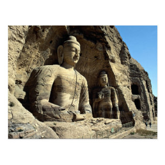 Yungang Caves, Shanxi Province, China Postcard