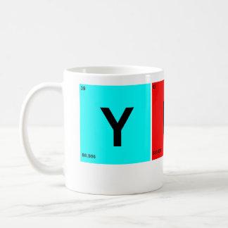 YUP CLASSIC WHITE COFFEE MUG
