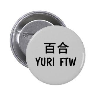 Yuri FTW! 2 Inch Round Button