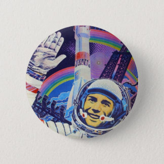 Yuri Gagarin cosmonaute button