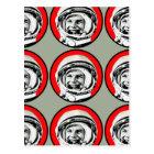 Yuri Gagarin - Soviet Hero & Cosmonaut Postcard