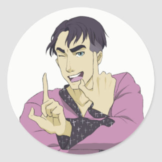 Yuri On Ice King JJ Sticker