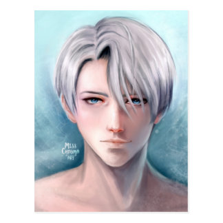 Yuri on Ice | Victor fanart Postcard