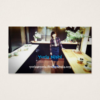 yuria business card