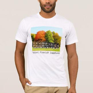 Yutori Finnish Lapphunds unisex T-shirt SxL litter