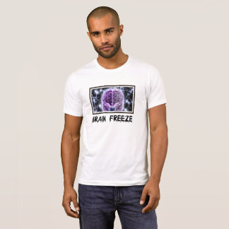 yuyass brain freeze t-shirt