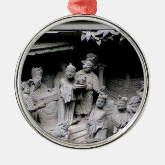 Yuyuan Garden Carving Christmas Ornaments