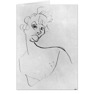 Yvette Guilbert  1894 Card