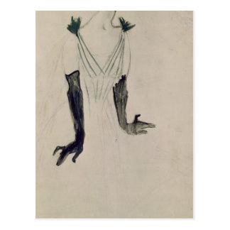 Yvette Guilbert , 1894 Postcard