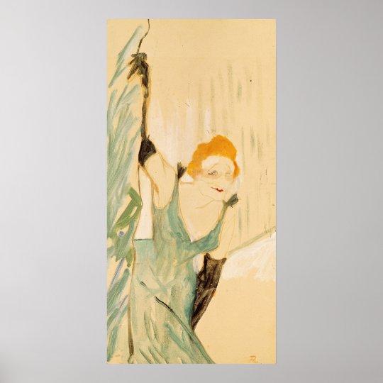 Yvette Guilbert  taking a Curtain Call, 1894 Poster