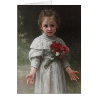 Yvonne - William-Adolphe Bouguereau Card