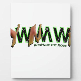 YWNMWR (YawnMower) ChaYng3th3Kod3 Plaque