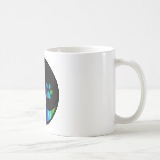 YYP_Dog_RainbowThickStripe Coffee Mug