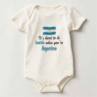 Z-Argentina humble.png Baby Bodysuit