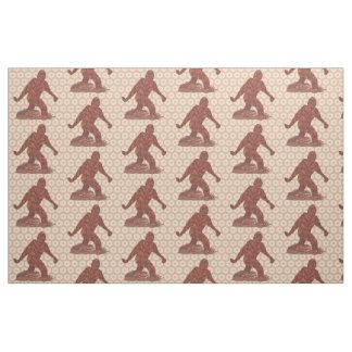Z Bigfoot Sasquatch Cryptid Creature Fun Fabric