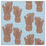 Z Bigfoot Sasquatch Track Crypto Craft Supplies Fabric