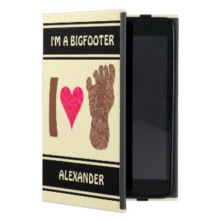 Z Bigfoot Sasquatch Track Personalized Bigfooter Cover For iPad Mini
