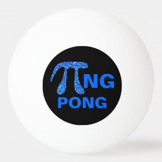 Z Blue Pi Symbol Math Geek Funny Pi+ng Pong Design Ping Pong Ball