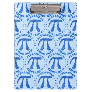 Z Blue Pi Symbol Math Geek Pattern Geeks Like Pi Clipboard