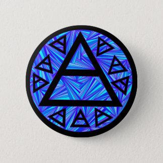 Z Blue Platos Air Symbol Triad Button Badge