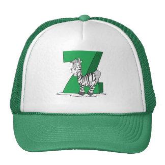 Z is for Zebra Mesh Hat