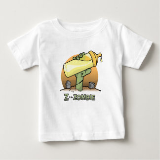 """Z"" is for Zombie ""Bottle"" Infant T-Shirt"