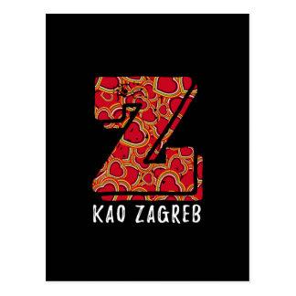 Z kao Zagreb Croatian Postcards