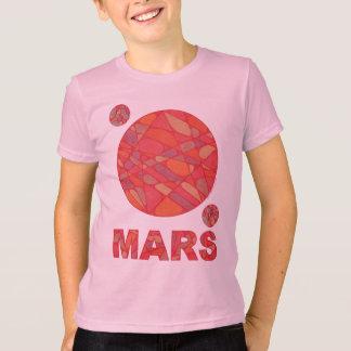 Z Mars Shirt Red Planet Art