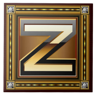 Z Monogram Premium Best viewed large. see notes Ceramic Tiles