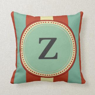 'Z' Monogram Throw Pillow