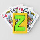Z Monster Bicycle Playing Cards