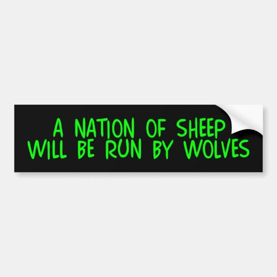 z_nationsheep bumper sticker