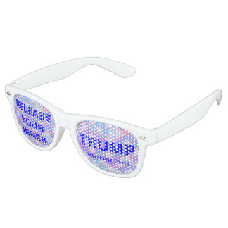 Z Release Your Inner Trump Funny Novelty Political Retro Sunglasses