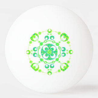 Z Spring Crop Circle Paranormal UFO Art Ping Pong Ball