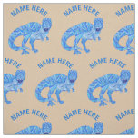 Z T-Rex Dinosaur Colourful Prehistoric Animal Fabric