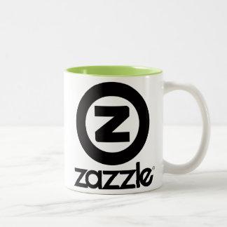 z test Two-Tone coffee mug