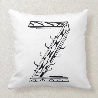 """Z"" THROW PILLOW"