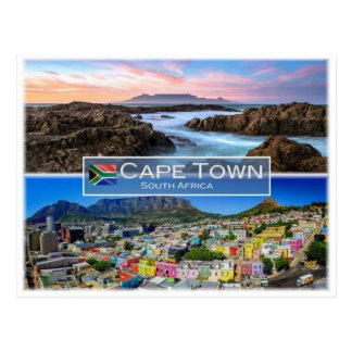 ZA South Africa - Cape Town - Postcard
