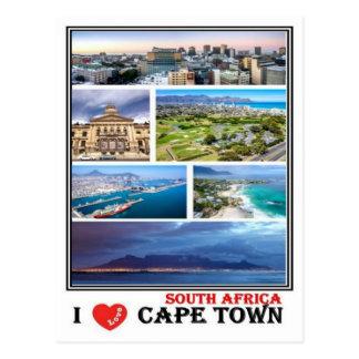ZA South Africa - Cape Town - Postcard