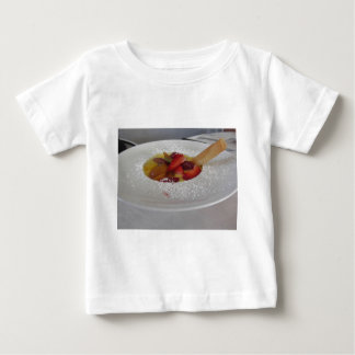 Zabaglione cream with fresh fruit and rolled wafer baby T-Shirt