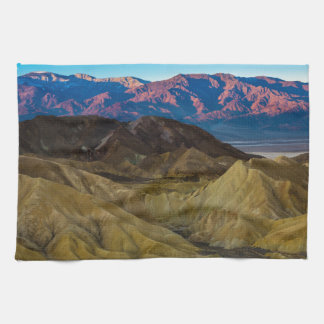 Zabriskie Colored Hills Sunrise - Death Valley Hand Towel